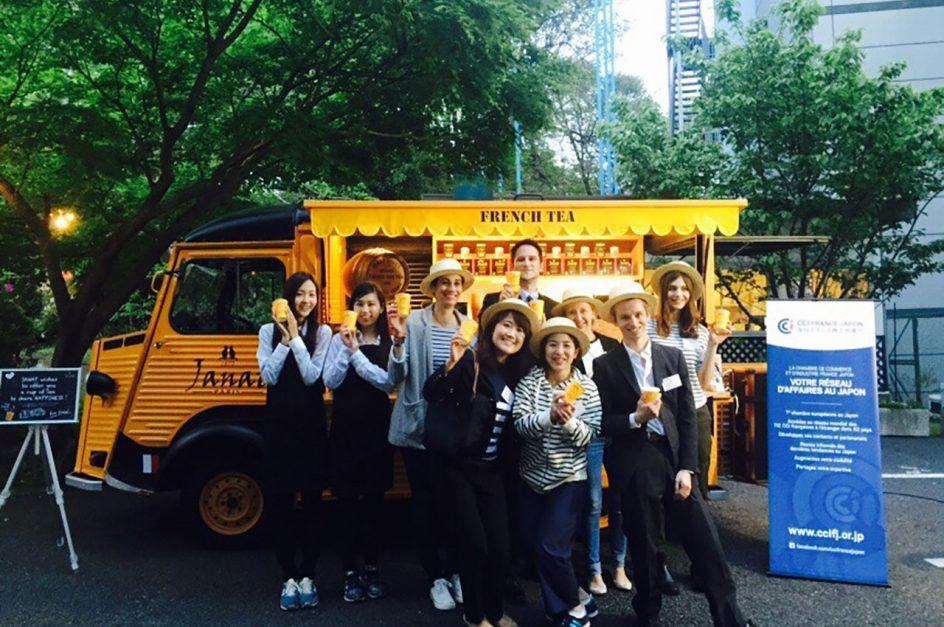 French Tea Caravan in tokyo