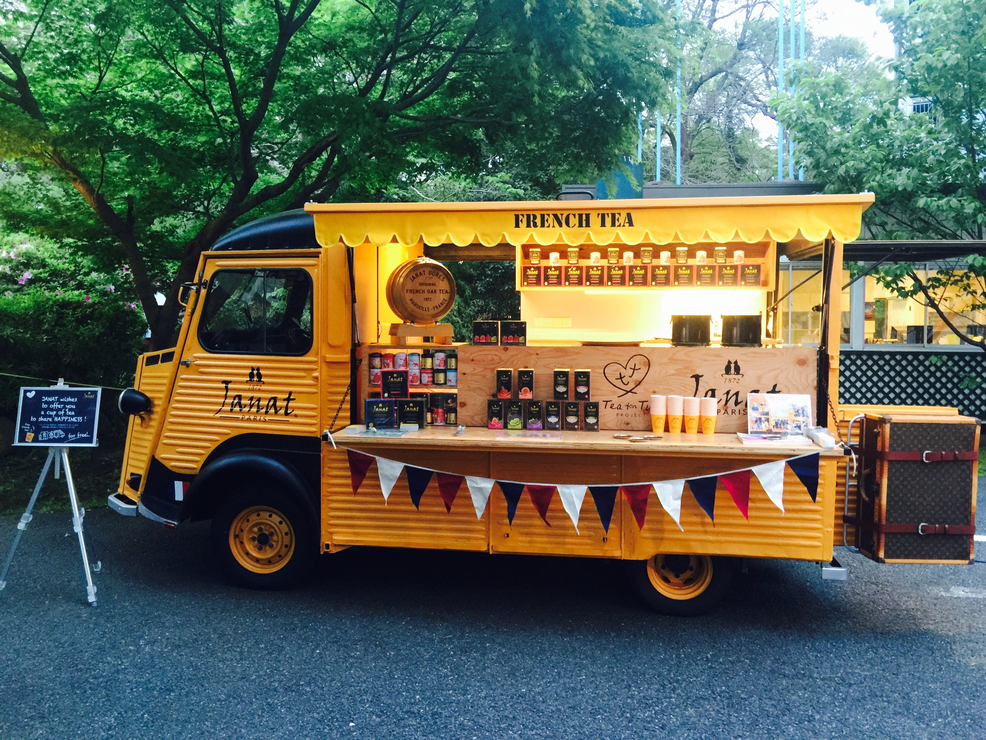 French Tea Caravan