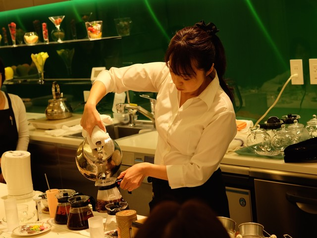 Janat Paris Tea Seminar in Tokyo
