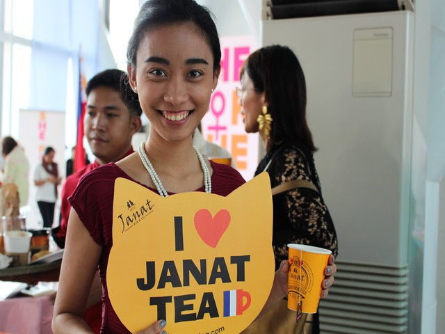 Janat Tea in Manila