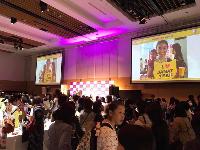 Janat Tea - Women spirit at Woman Expo Tokyo